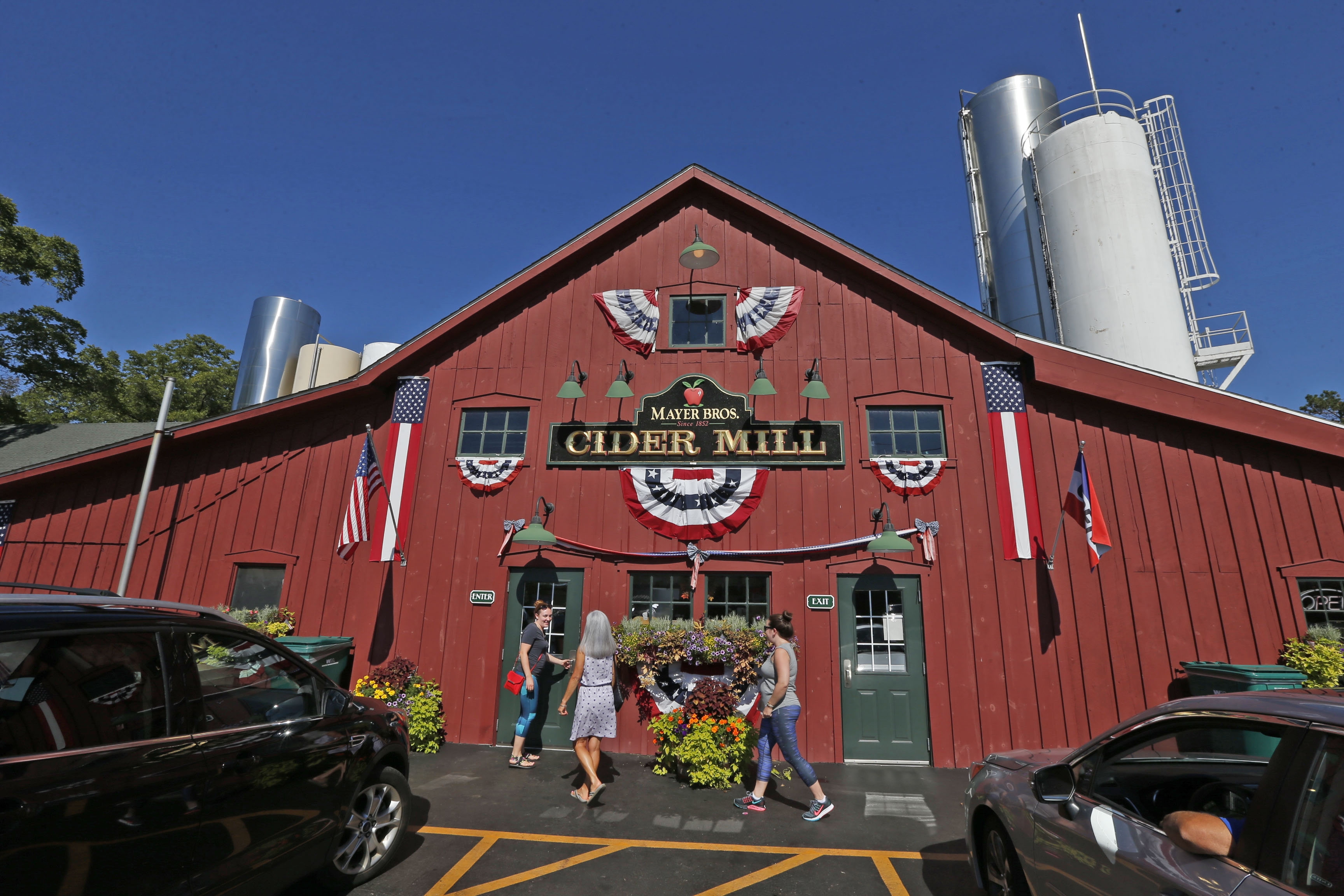 Mayer Brothers Cider Mill and Bakery has been delighting Western New York customers for 164 years. (Robert Kirkham/Buffalo News)