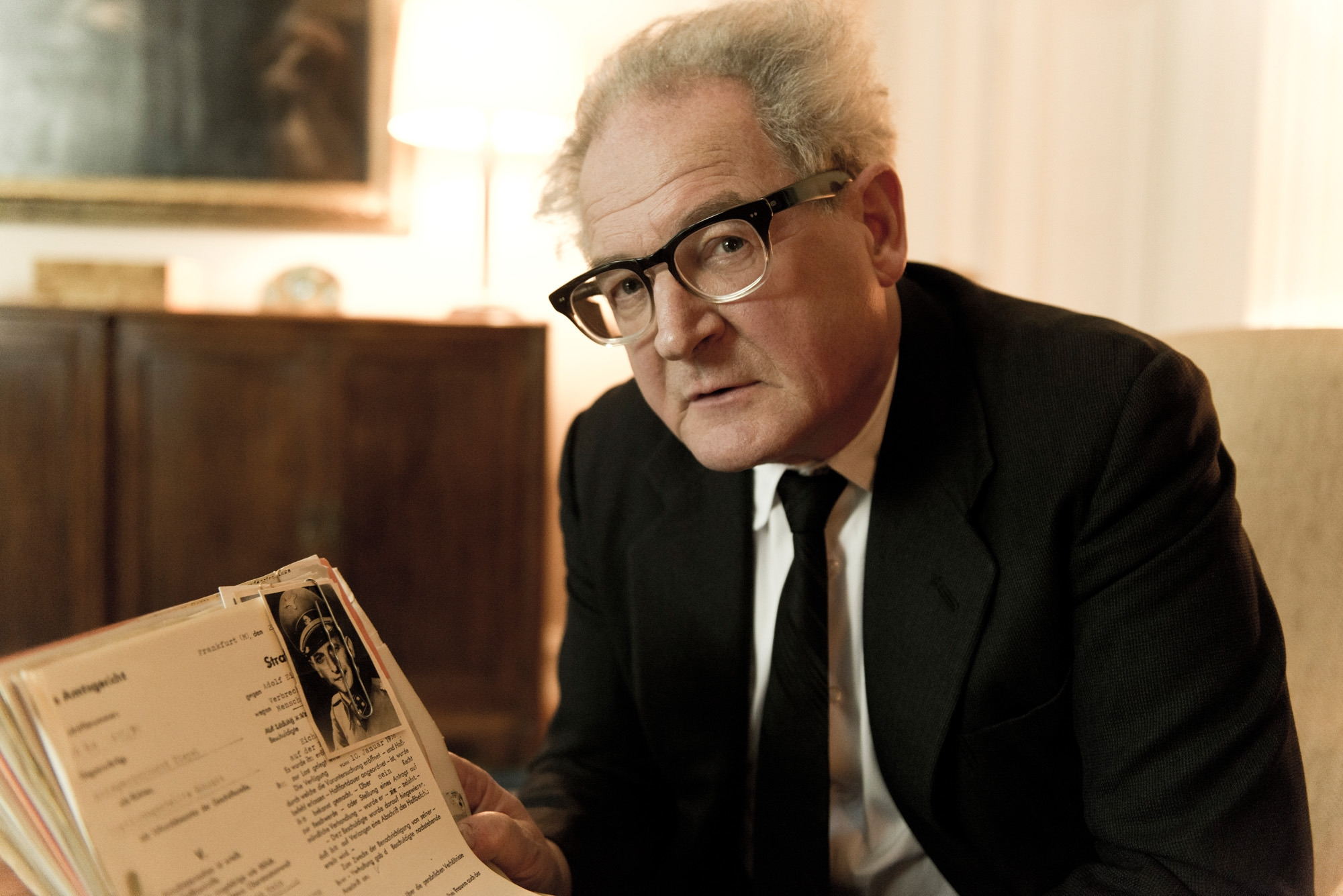 """Public prosecutor Fritz Bauer, played by Burghart Klaussner, battles the system to bring Adolf Eichmann to justice in """"The People Vs. Fritz Bauer."""""""