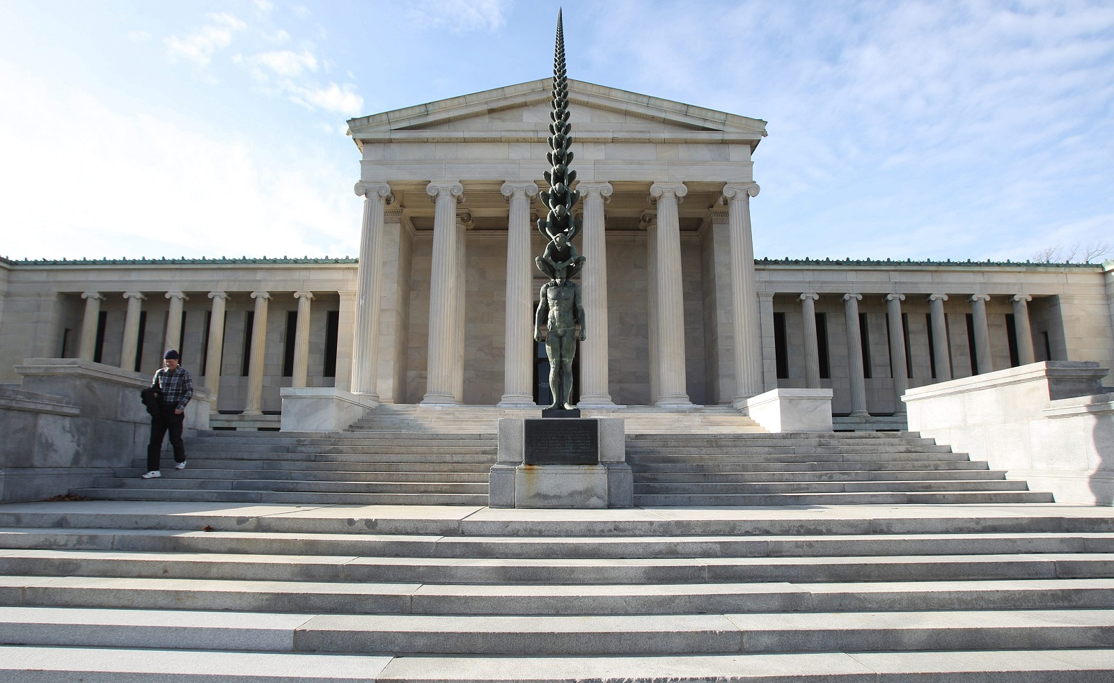 The Albright-Knox Art Gallery. (Sharon Cantillon/Buffalo News file photo)