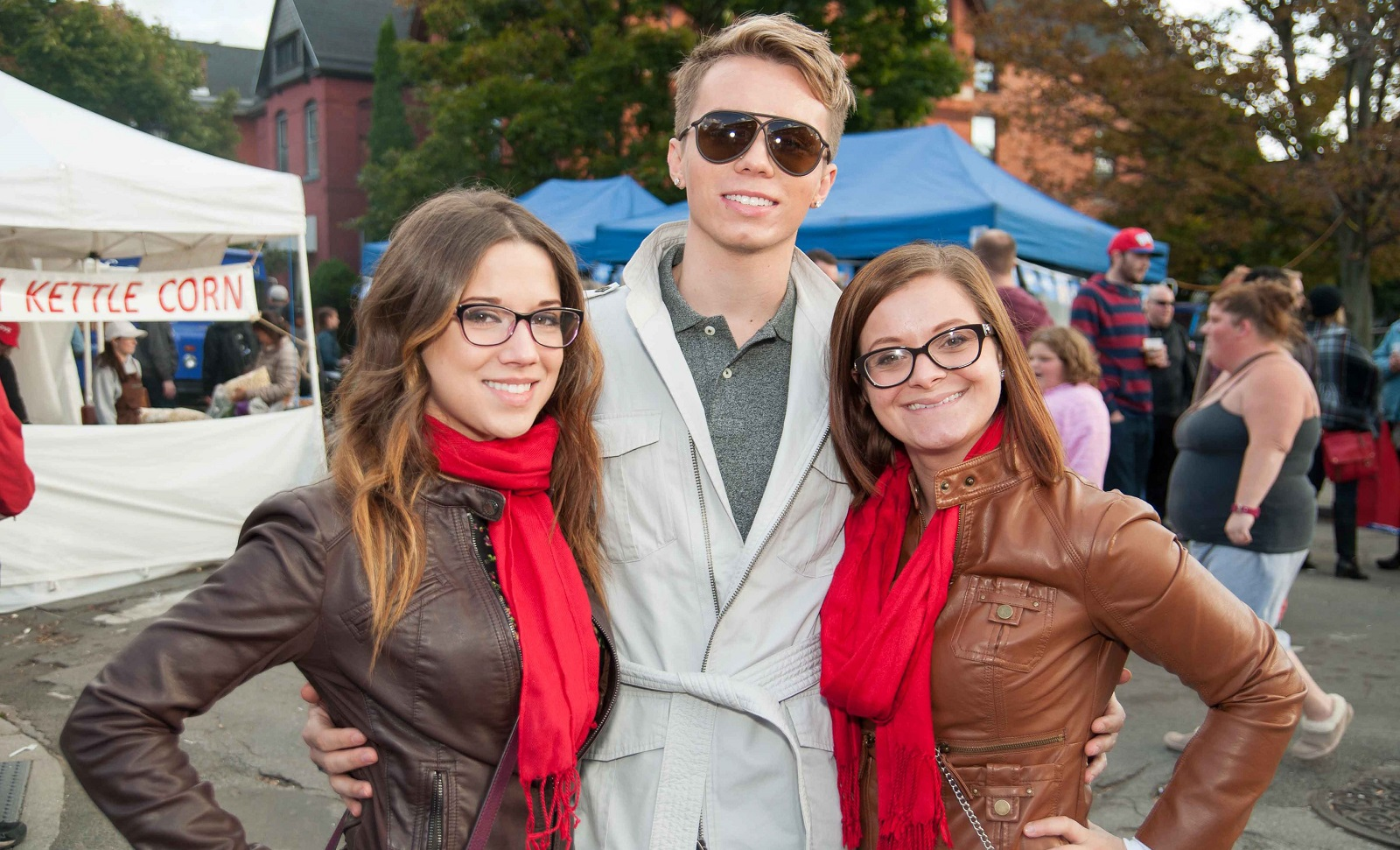 Smiling faces at the Allentown Fall Festival from 2014. (Matt Weinberg/Special to The News)