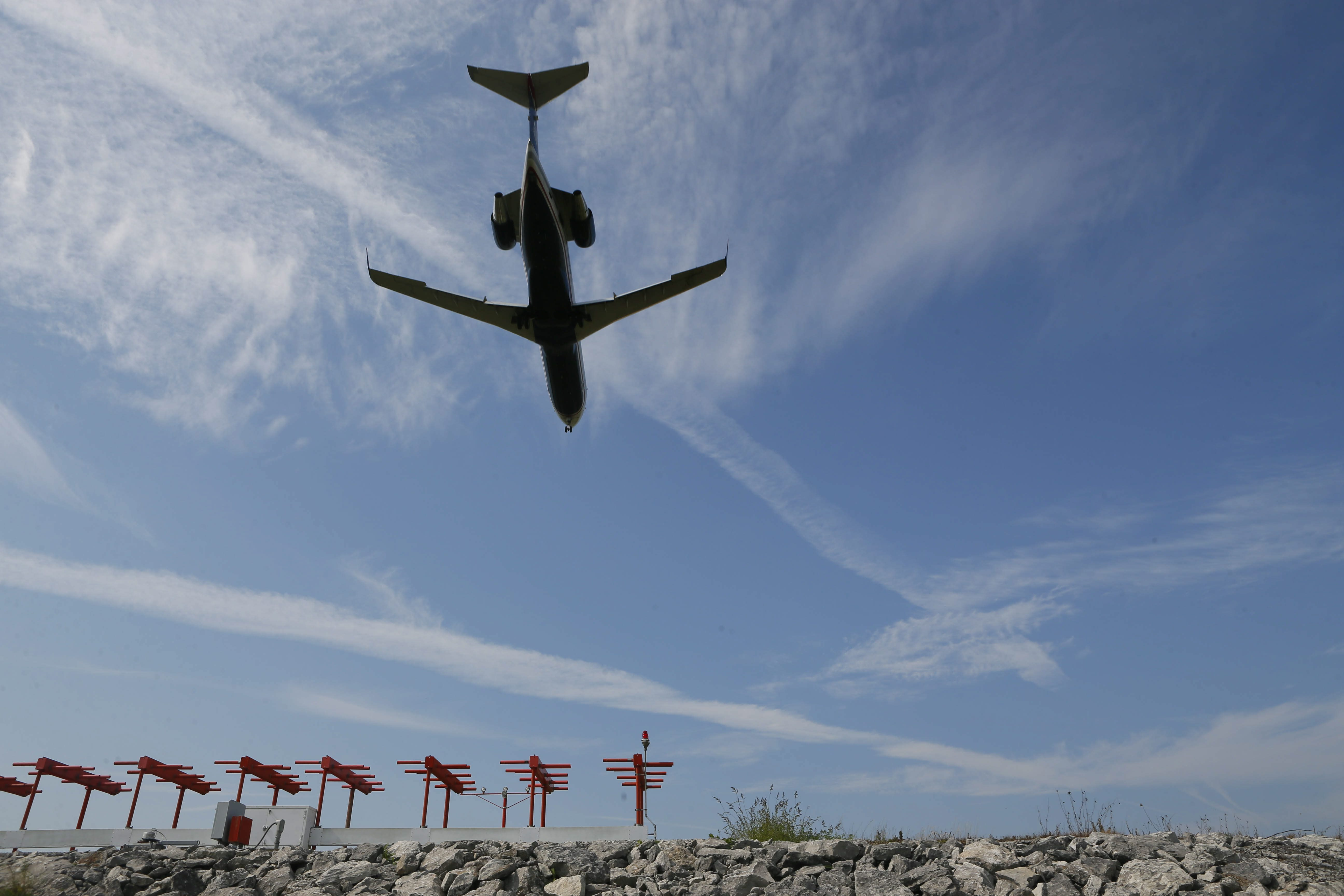 Airliners often encounter CAT at high altitudes with little or no warning, because there are no visual or onboard radar clues to its presence.  (Derek Gee/News file photo)