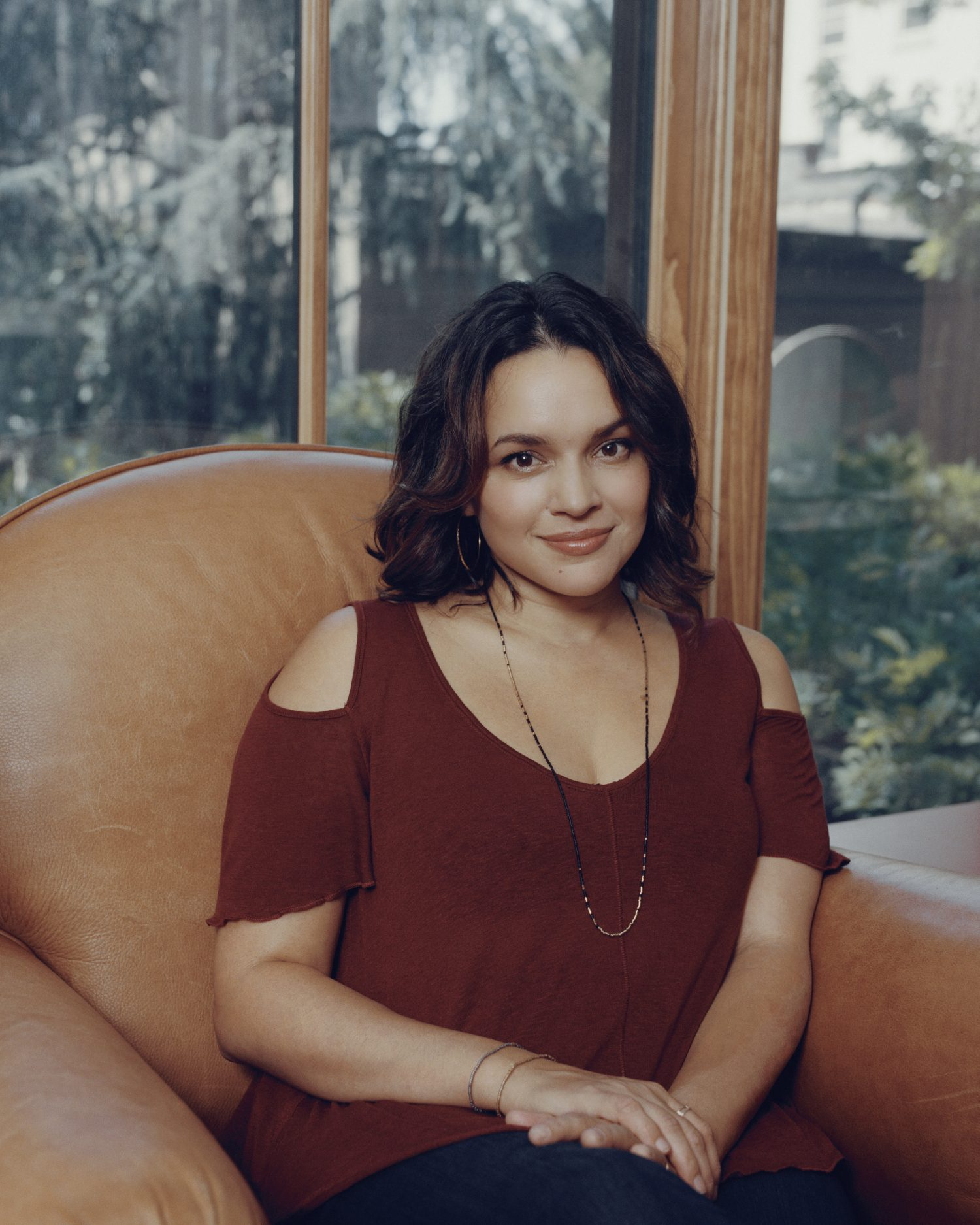 "Norah Jones, whose new album ""Day Breaks"" is out in October, at home in New York.  (Ryan Pfluger/The New York Times)"