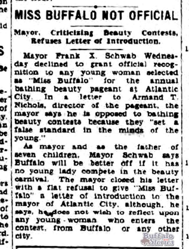 Buffalo Evening News, July 13, 1927