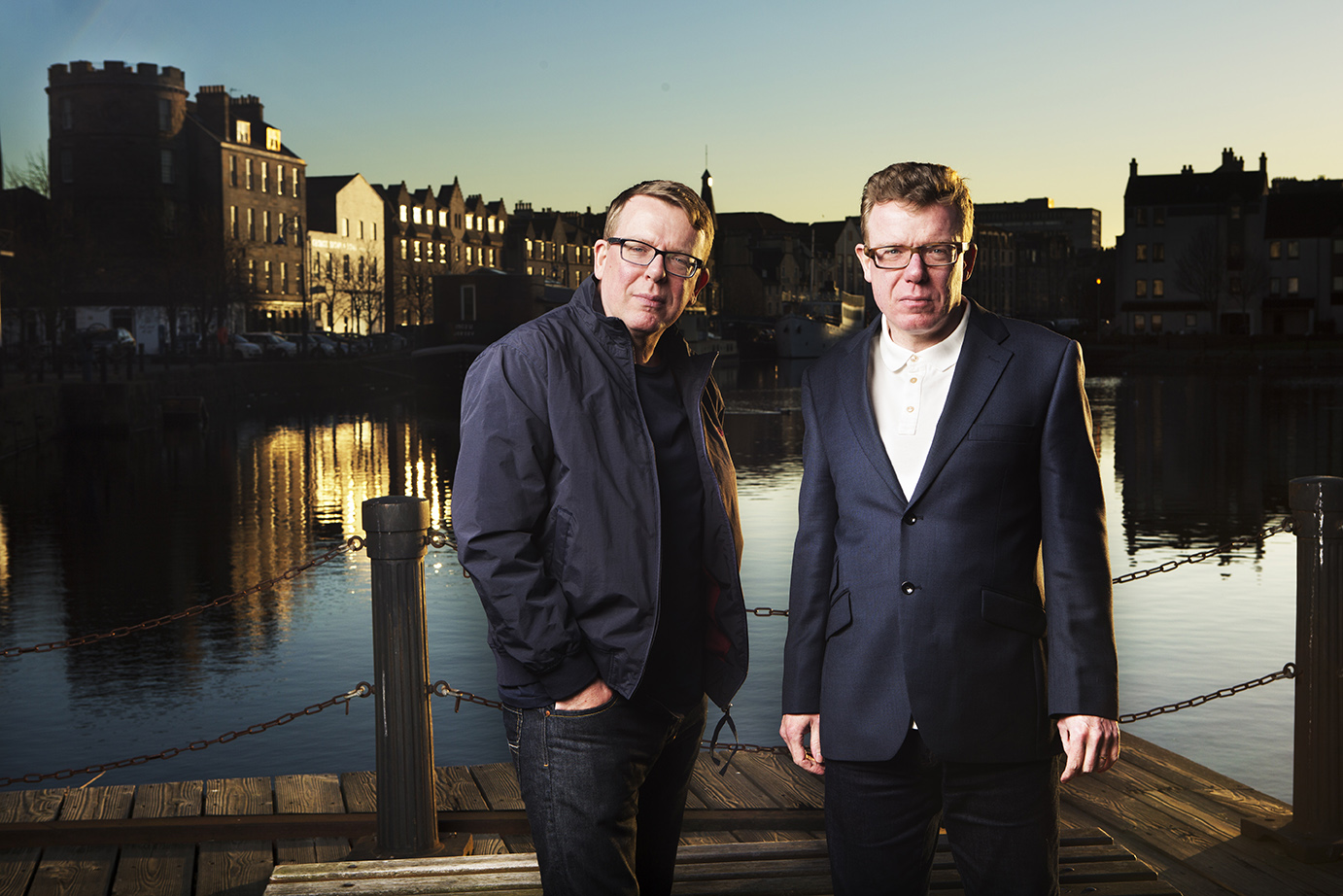 Craig and Charlie Reid of Scotland's Proclaimers will play Buffalo's Waiting Room on Sept. 23. (Photo courtesy Murdo Macleod)