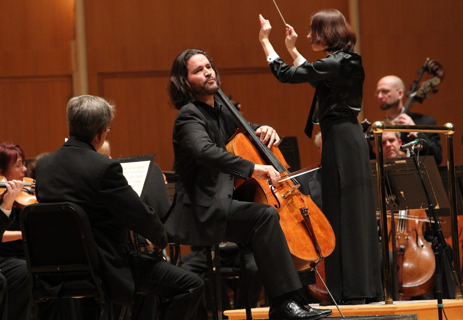 Zuill Bailey, here with the BPO in 2012, stands out in this recording from Michael Daugherty. (Sharon Cantillon/Buffalo News)