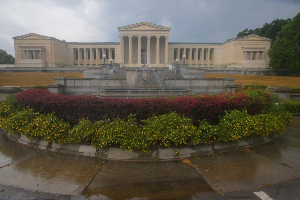 In honor of Jeffrey Gundlach's gift, the Albright-Knox board voted to change the gallery's name to the Buffalo Albright-Knox-Gundlach Art Museum, or the Buffalo AKG Art Museum for short, upon its completion. (John Hickey/Buffalo News)