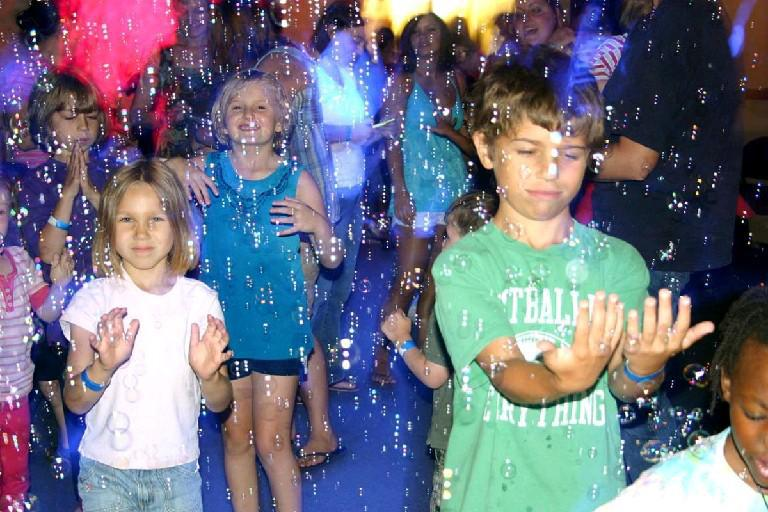 Bubblefest takes place Saturday at the Buffalo Museum of Science.