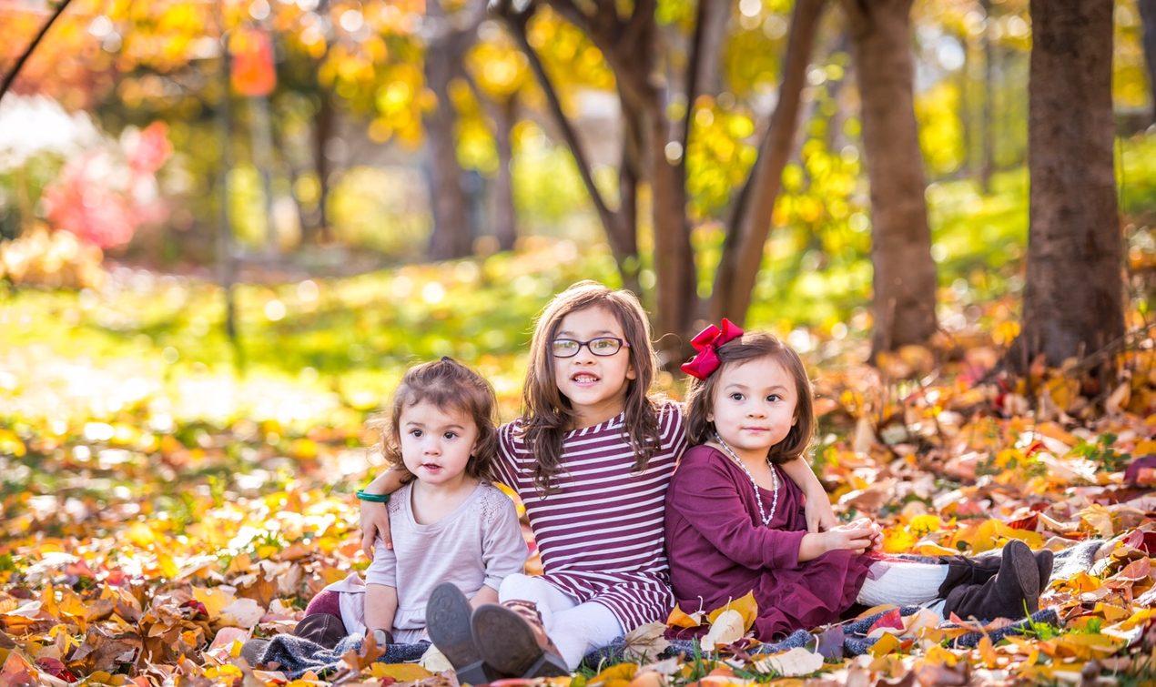 Davide Barone-Vu took this picture of his three adorable kids. (Courtesy: David Barone-Vu)