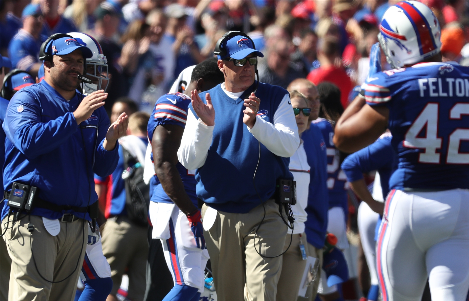 Rex turned out to be right: The Cardinals were just what the Bills needed. (James P. McCoy/Buffalo News)