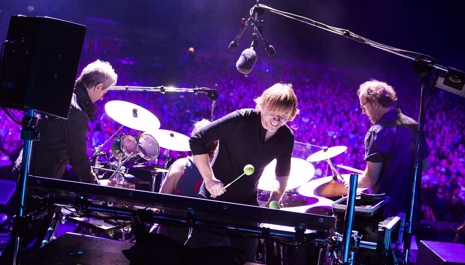 Phish, photographed during their summer 2016 tour. (Photo by Rene Huemer)
