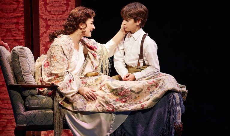 'Finding Neverland,' shown here in a Broadway production shot, plays through this weekend in Shea's Performing Arts Center.