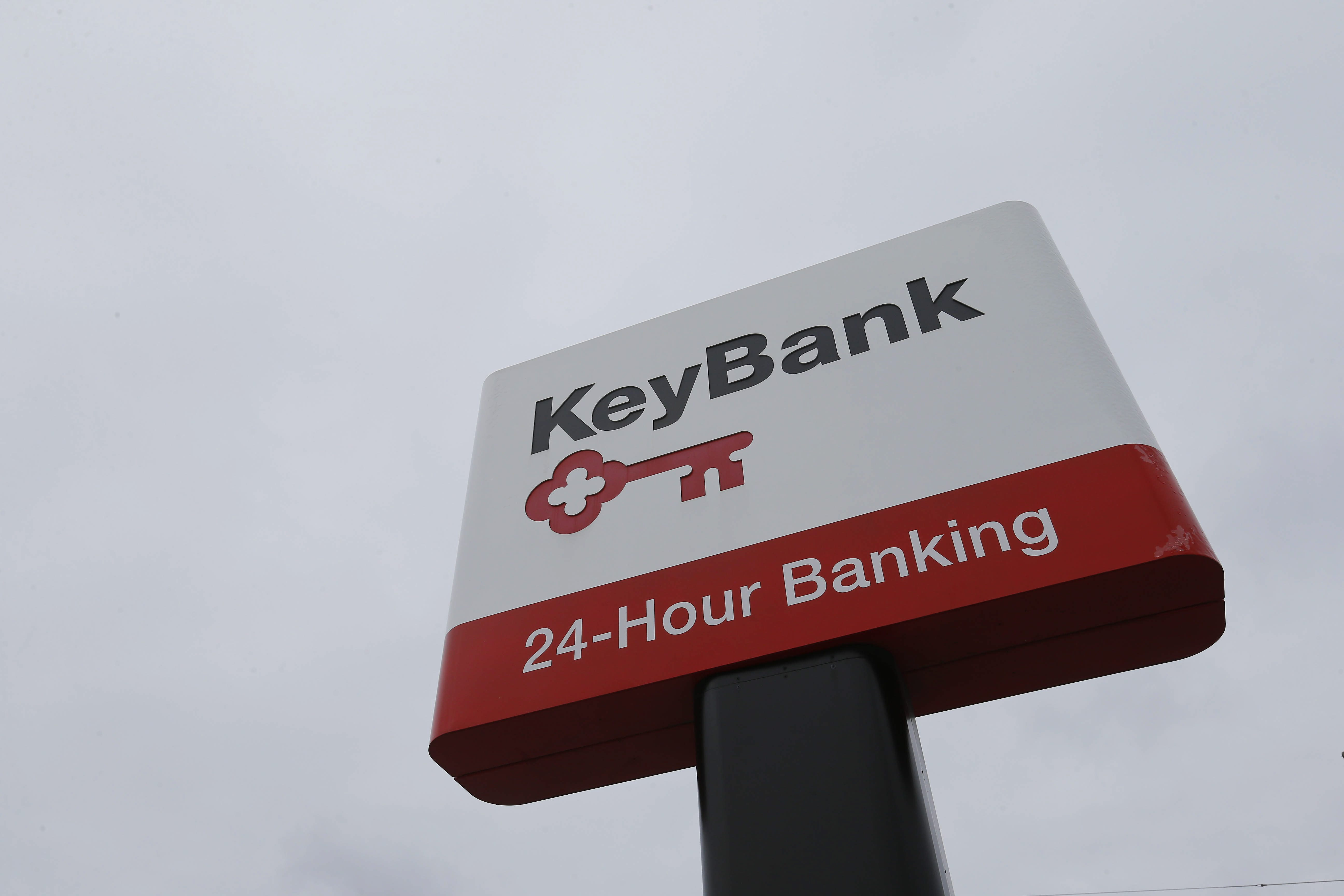 KeyBank on Broadway in Lancaster. (Mark Mulville/Buffalo News)