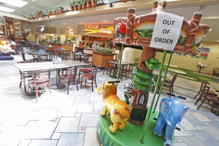 Mall operators are contending with a lot of quiet days inside Eastern Hills. (Robert Kirkham/Buffalo News)