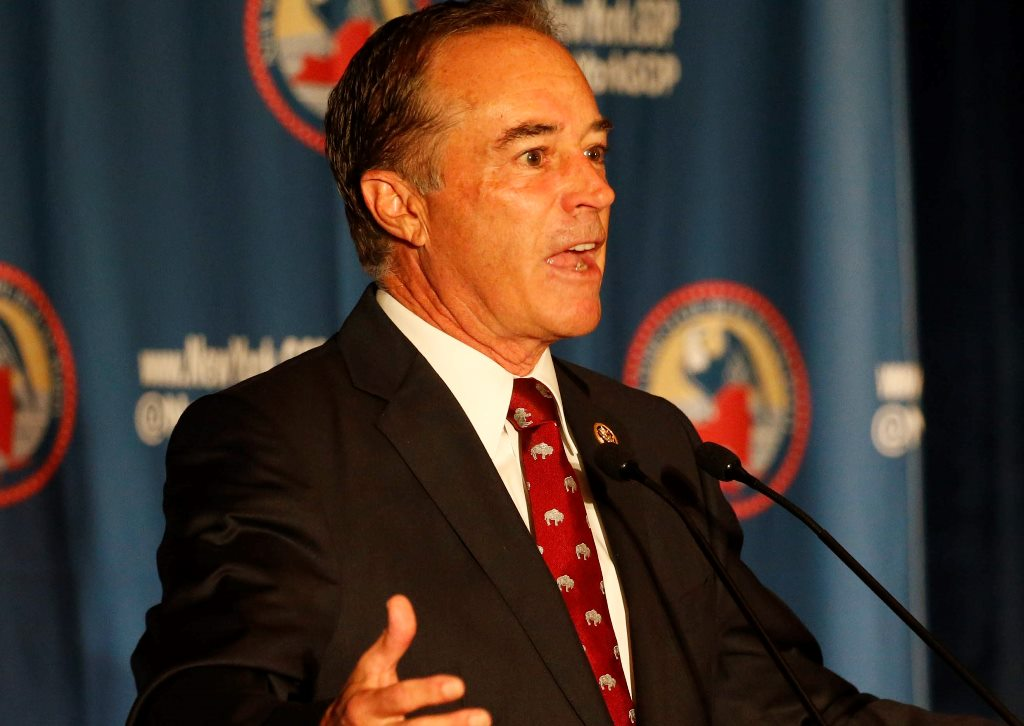 Rep. Chris Collins says Donald Trump would accept the election results, win or lose. (News fiule photo)