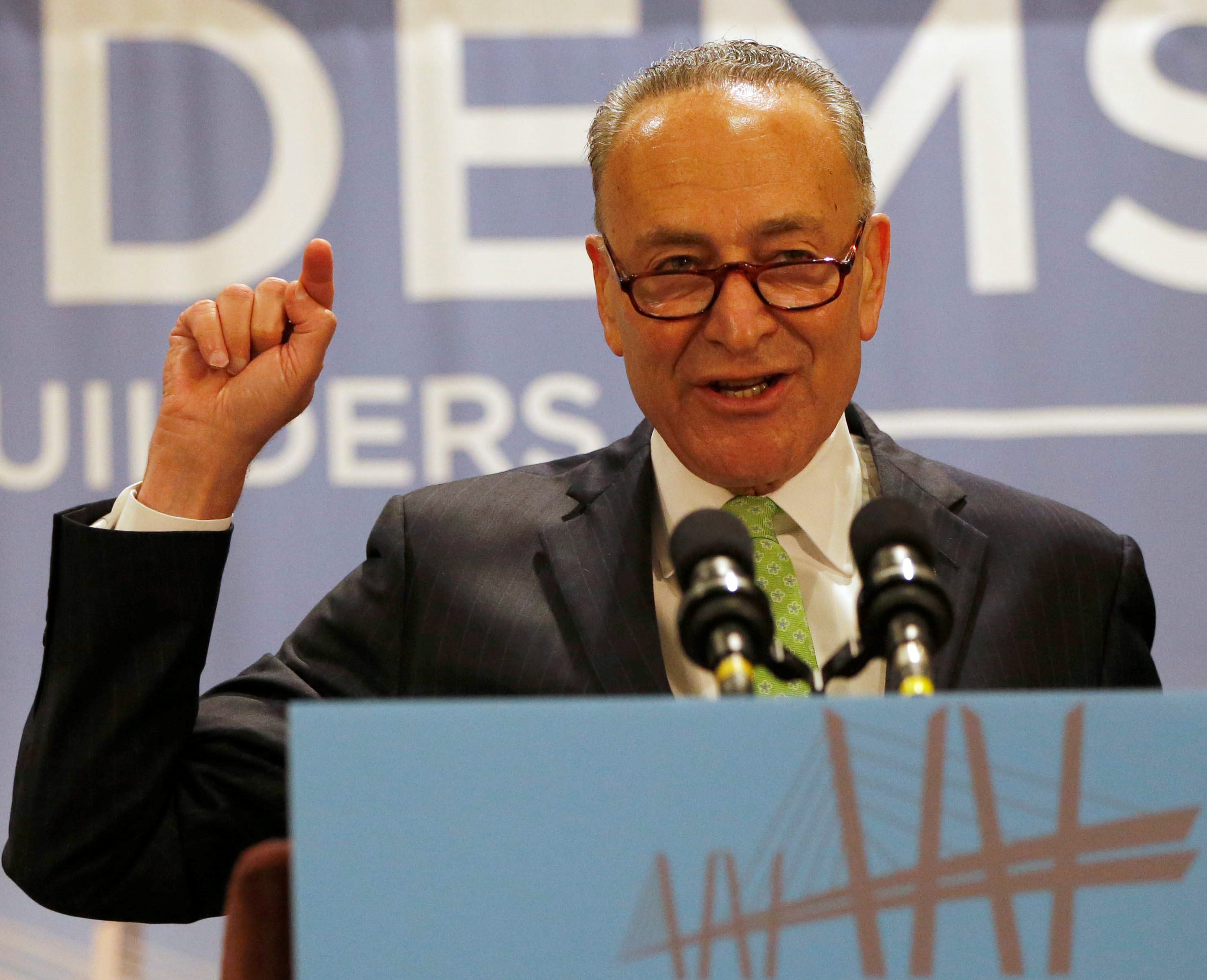 Sen. Charles Schumer has been a strong advocate for Western New York. Derek Gee/Buffalo news file photo)
