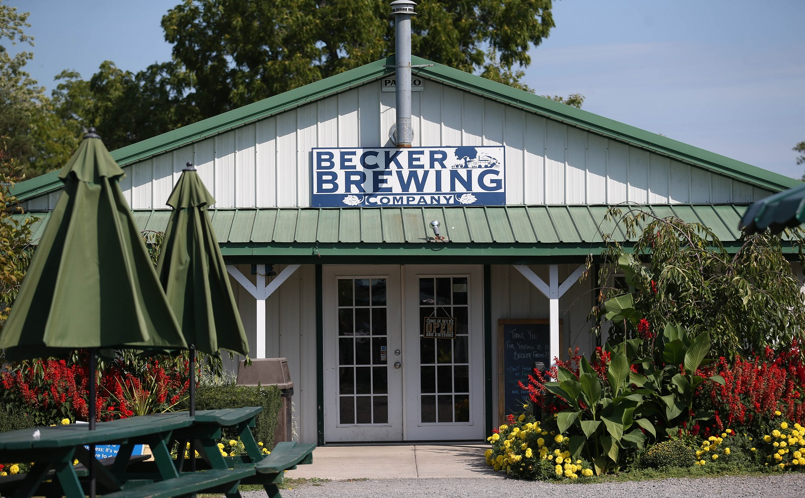 The Becker Brewing Company is at Becker Farms at 3724 Quaker Road in Gasport. (Sharon Cantillon/Buffalo News)