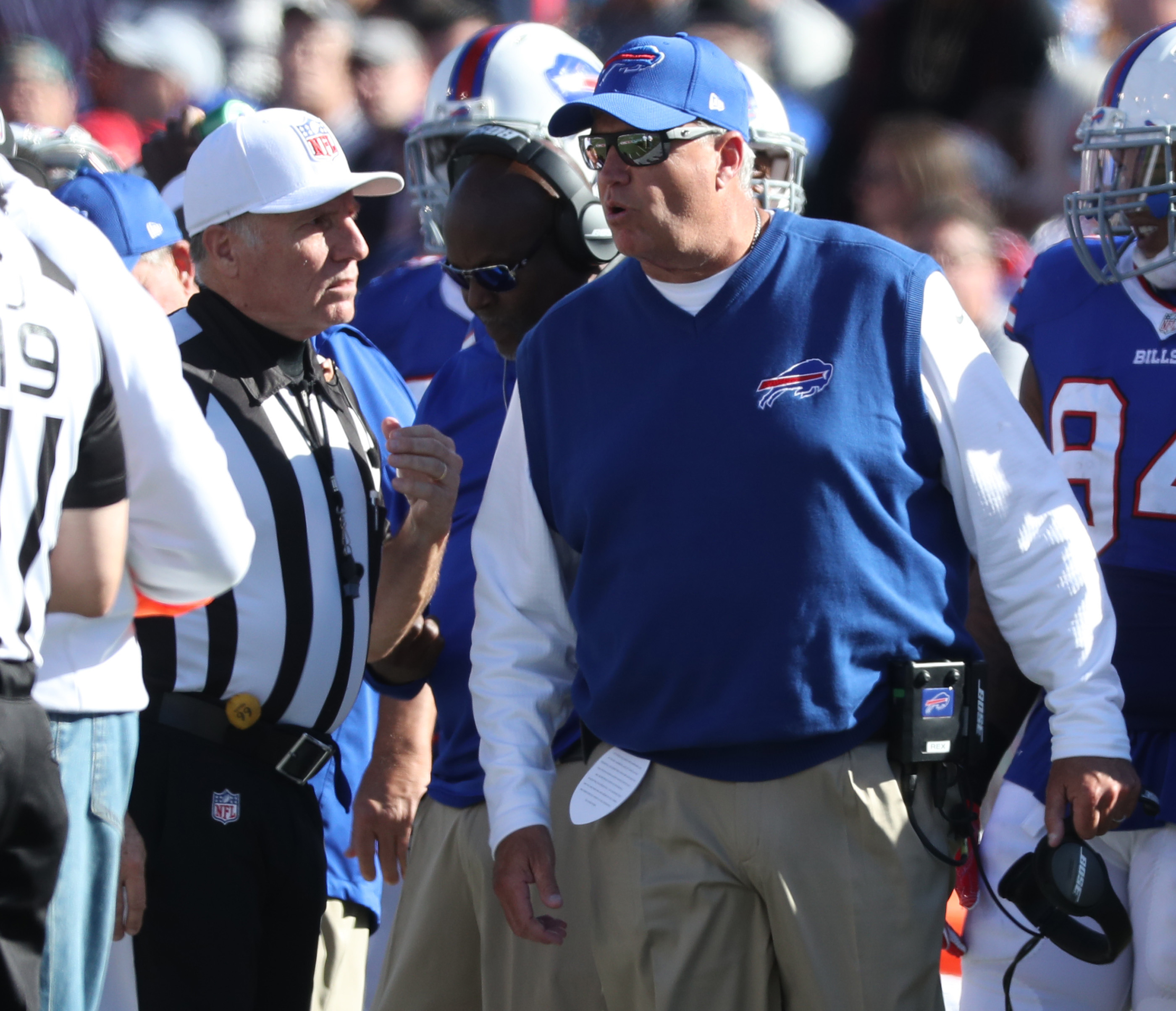 Bills coach Rex Ryan has to show his ability as a top defensive coach against Tom Brady and the Patriots Sunday.