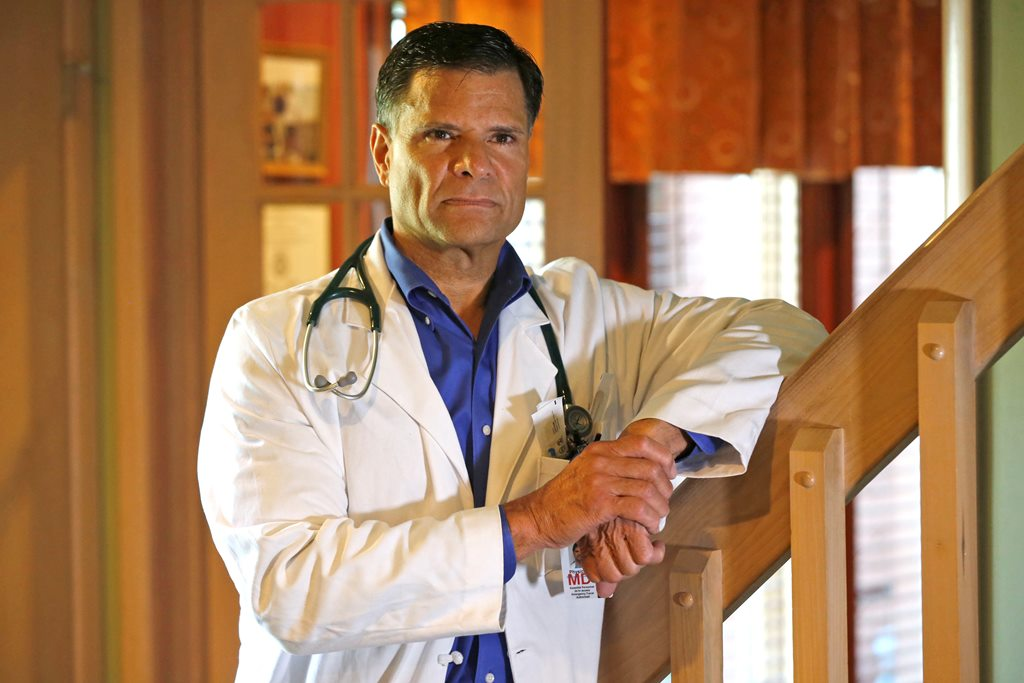 Dr. Jose G. Perez-Brache says he refused to prescribe pain medication to a woman in the ER at Kenmore Mercy, and she filed a complaint with the hospital. (Robert Kirkham/Buffalo News)