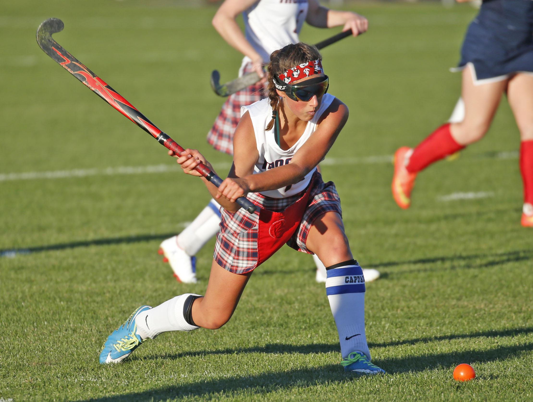 Chantel Gauthier and her Iroquois field hockey team want to keep winning. (Robert Kirkham/Buffalo News)