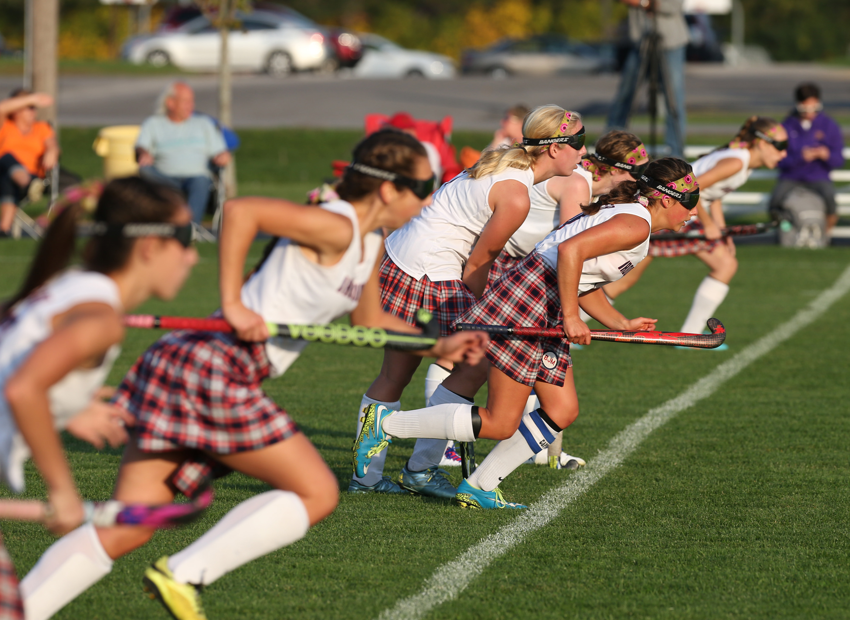 Iroquois field hockey goes into Wednesday's game needing a win to complete an unbeaten regular season.  (James P. McCoy/ Buffalo News)