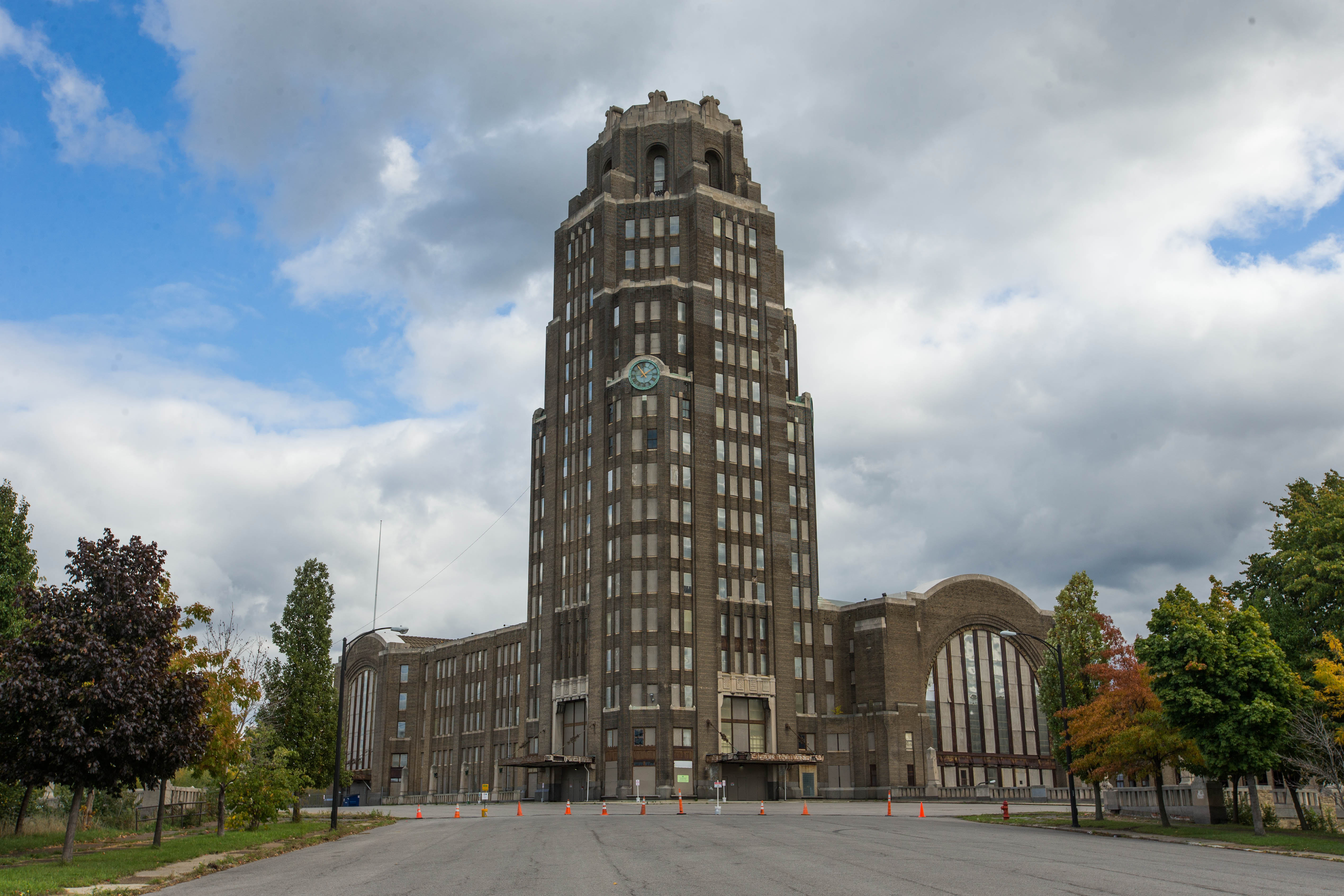 Central Terminal is one potential site being tossed around for a new Amtrak Station. (Derek Gee/Buffalo News)
