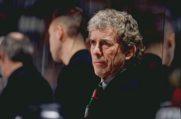 Roger Neilson coached the Sabres in the 1980-81 season and led Vancouver to the Stanley Cup final in 1982 (Getty Images).