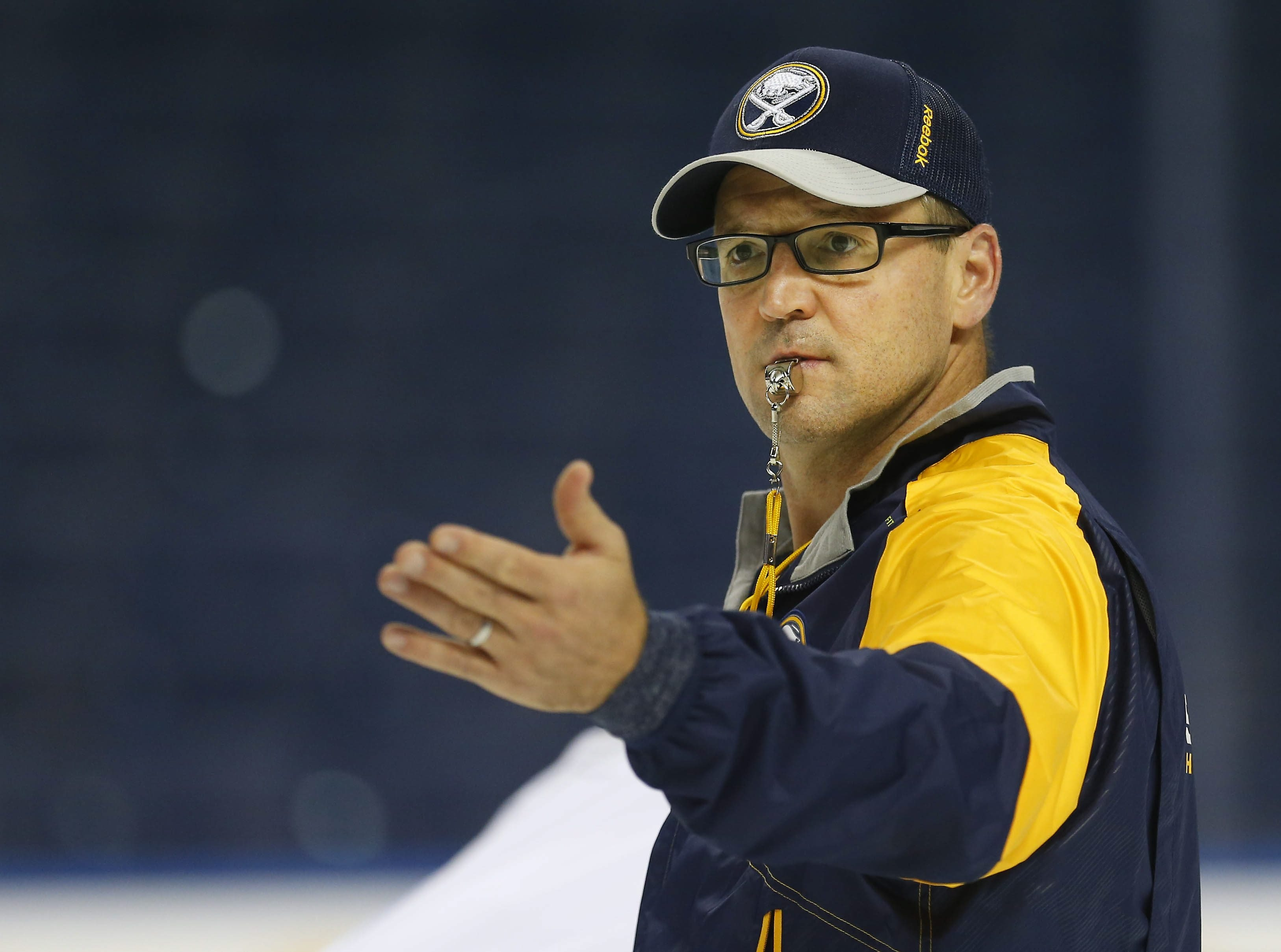 Buffalo Sabres coach Dan Bylsma doesn't want to use the burden of back-to-back games as an excuse.