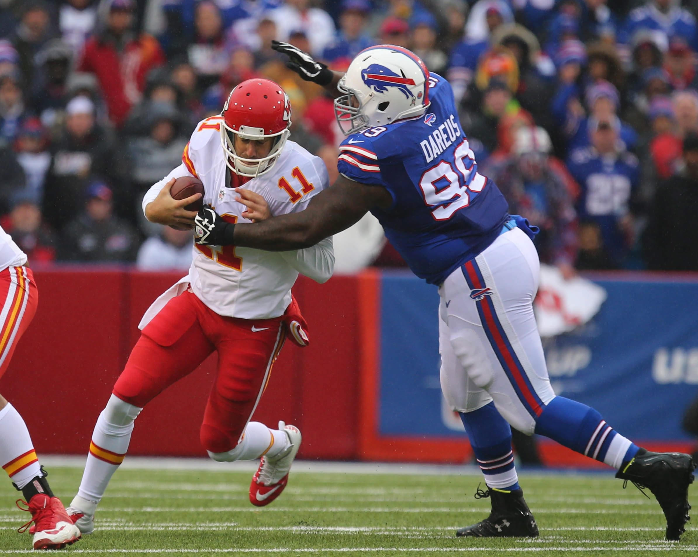 Buffalo Bills defensive tackle Marcell Dareus claims that the true difficulty behind his recent missteps is that he has attention deficit hyperactivity disorder.