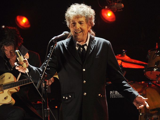 Bob Dylan was just awarded the Nobel Prize in Literature.
