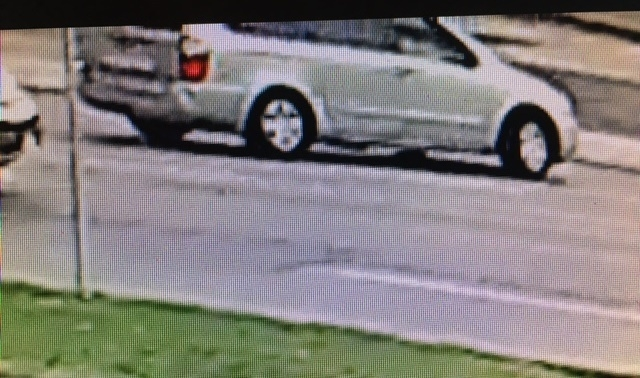 A still from a surveillance video shows the vehicle involved in a suspicious incident at a Kwik Fill gas station on Military Road in the Town of Tonawanda.