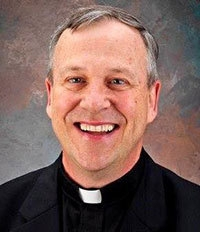 The Rev. Louis Lougen attended Bishop Neumann High School.