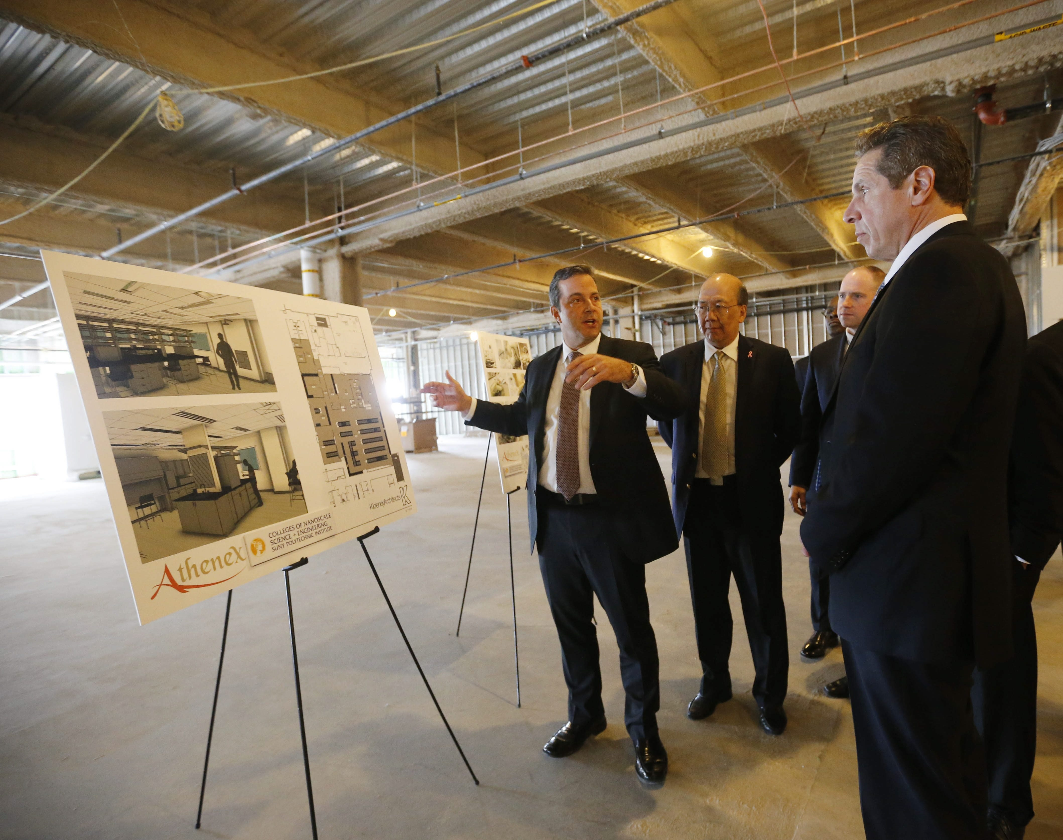 The Athenex factory in Dunkirk was announced with much fanfare early this year. While the state provided the money, Invest Buffalo Niagara assisted with the project.  (Derek Gee/Buffalo News file photo)