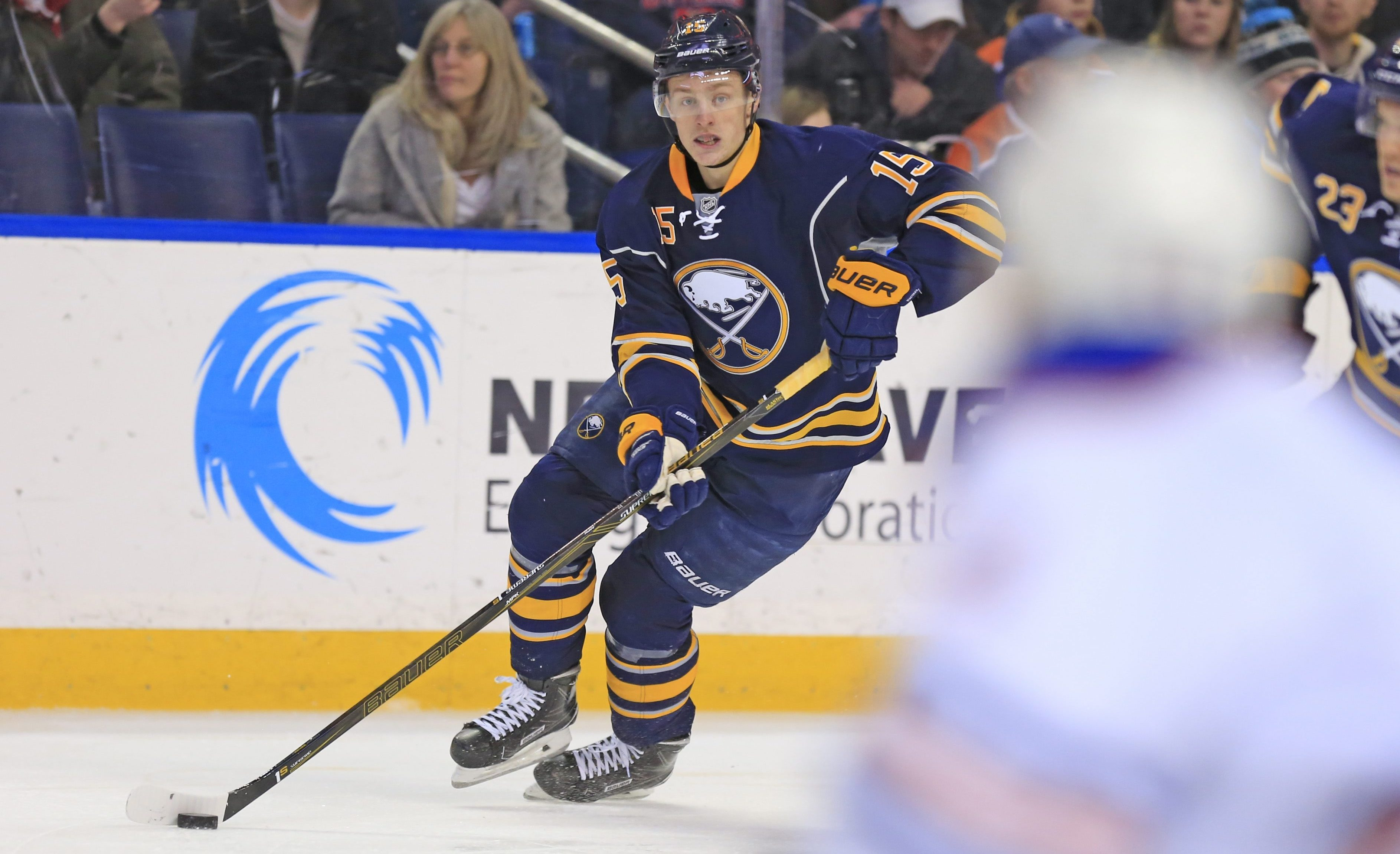 The Sabres hope Jack Eichel can return to action this week (Harry Scull Jr./Buffalo News file photo).