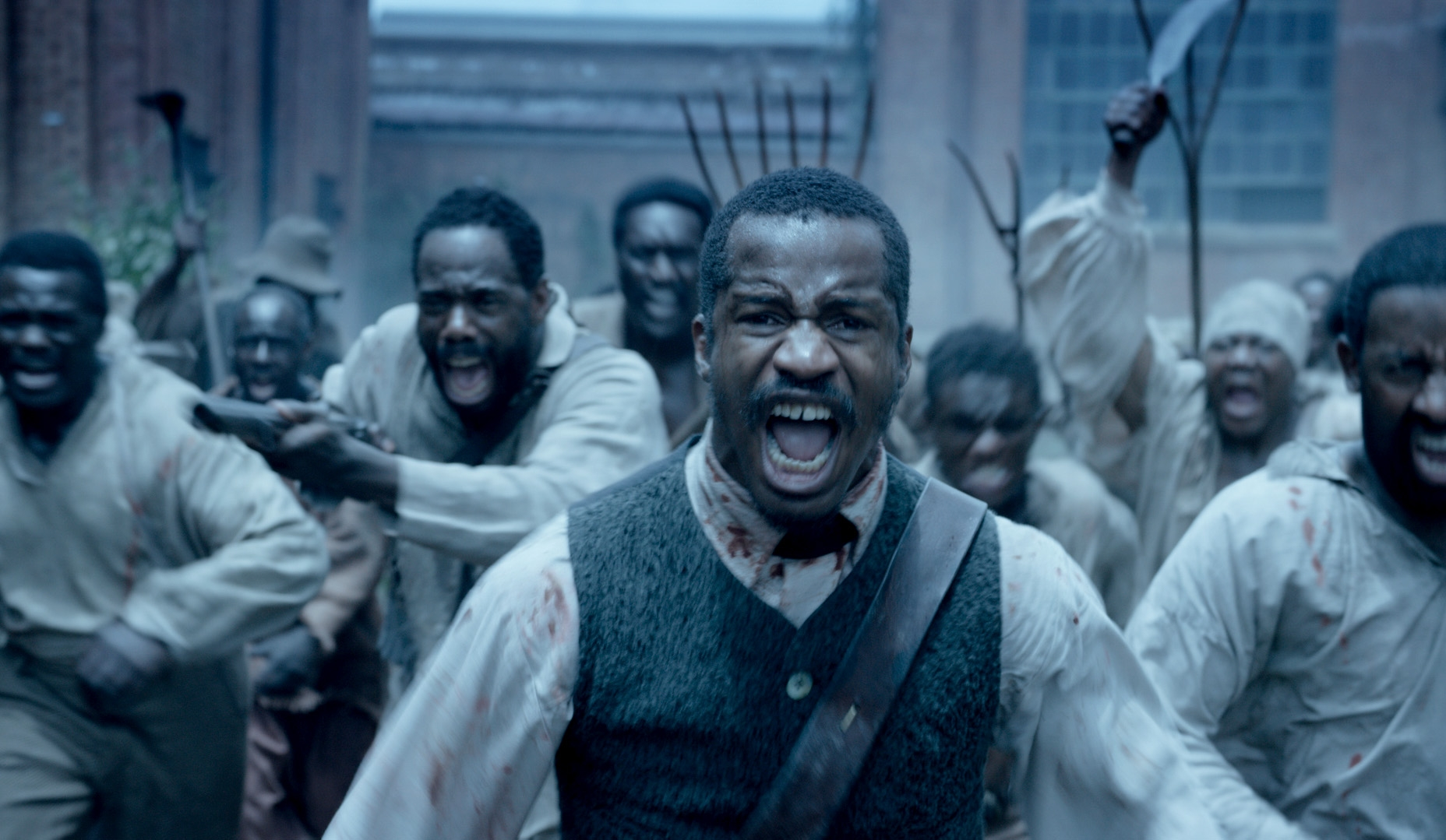 "Nate Parker stars as Nat Turner, leader of the 1831 slave rebellion, in ""The Birth of a Nation."""