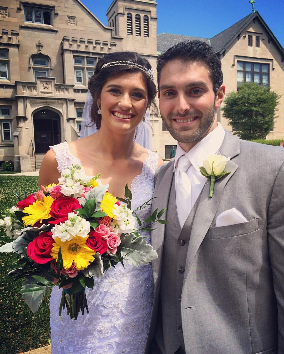 Katerina Czup and Ryan Arnold are wed in Buffalo