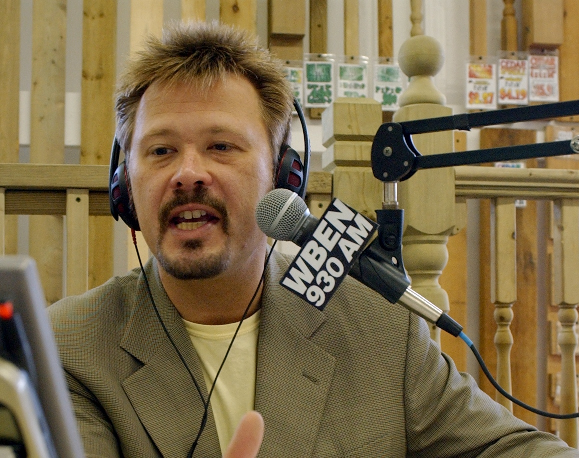 A News file photo of WBEN radio host Tom Bauerle. (News file photo)
