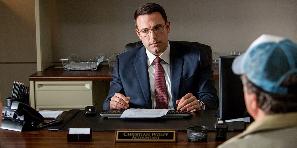 "Ben Affleck stars as ""The Accountant."""