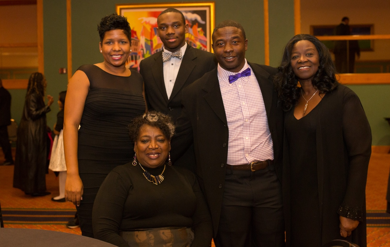 Smiles at the 2015 Buffalo Black Achievers Gala at the Adam's Mark. (Chuck Alaimo/Special to The News)
