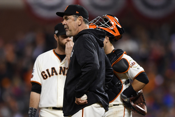 Nothing worked for Bruce Bochy in the ninth inning (Getty Images).