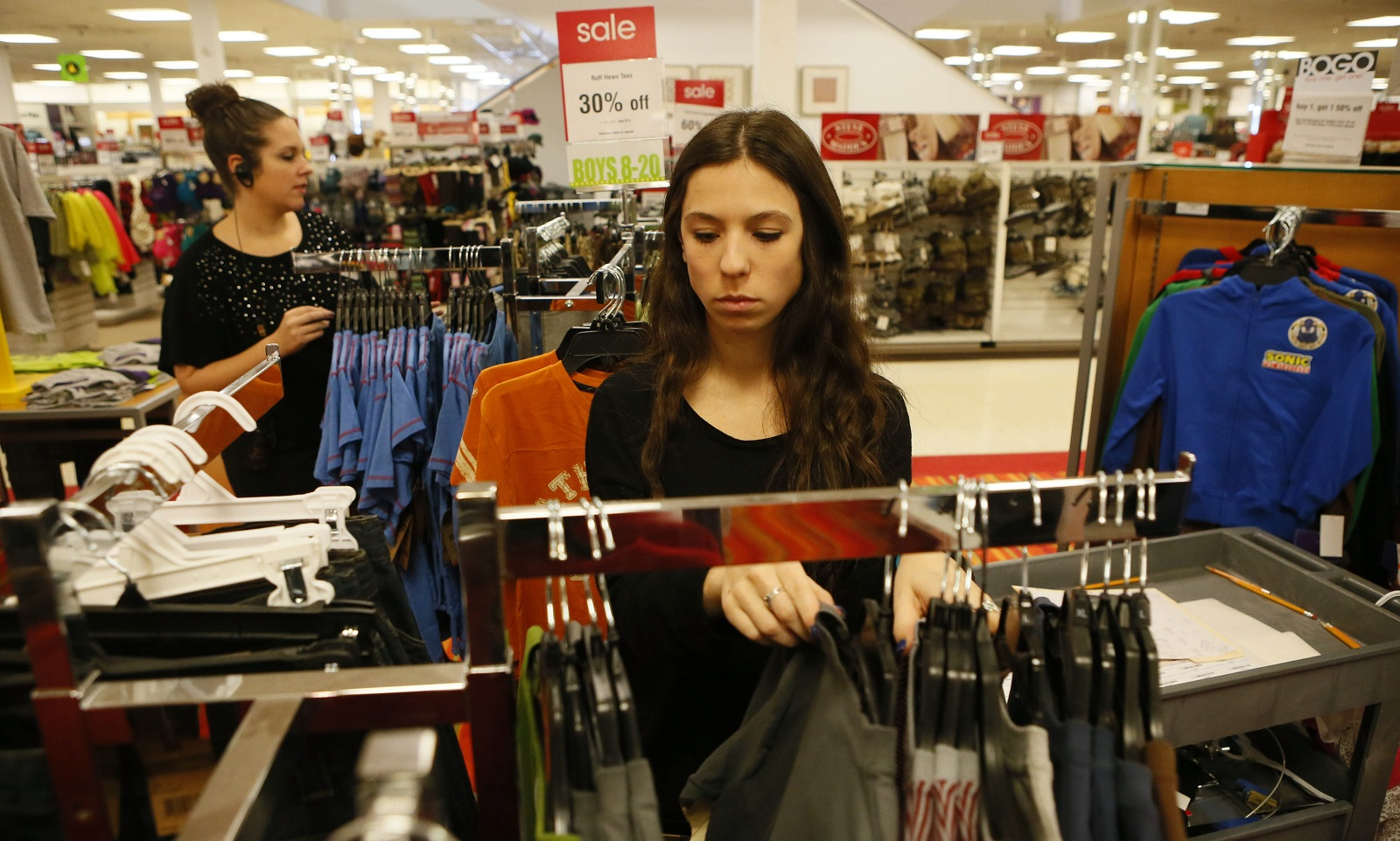 Bon-Ton has been struggling with declining sales. (Derek Gee/Buffalo News file photo)