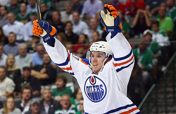 Connor McDavid has six points in the first two games (Getty Images).