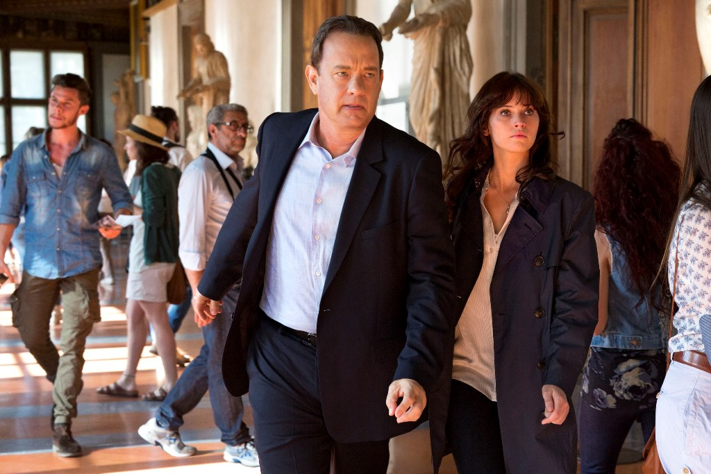 """Tom Hanks stars in """"Inferno."""""""