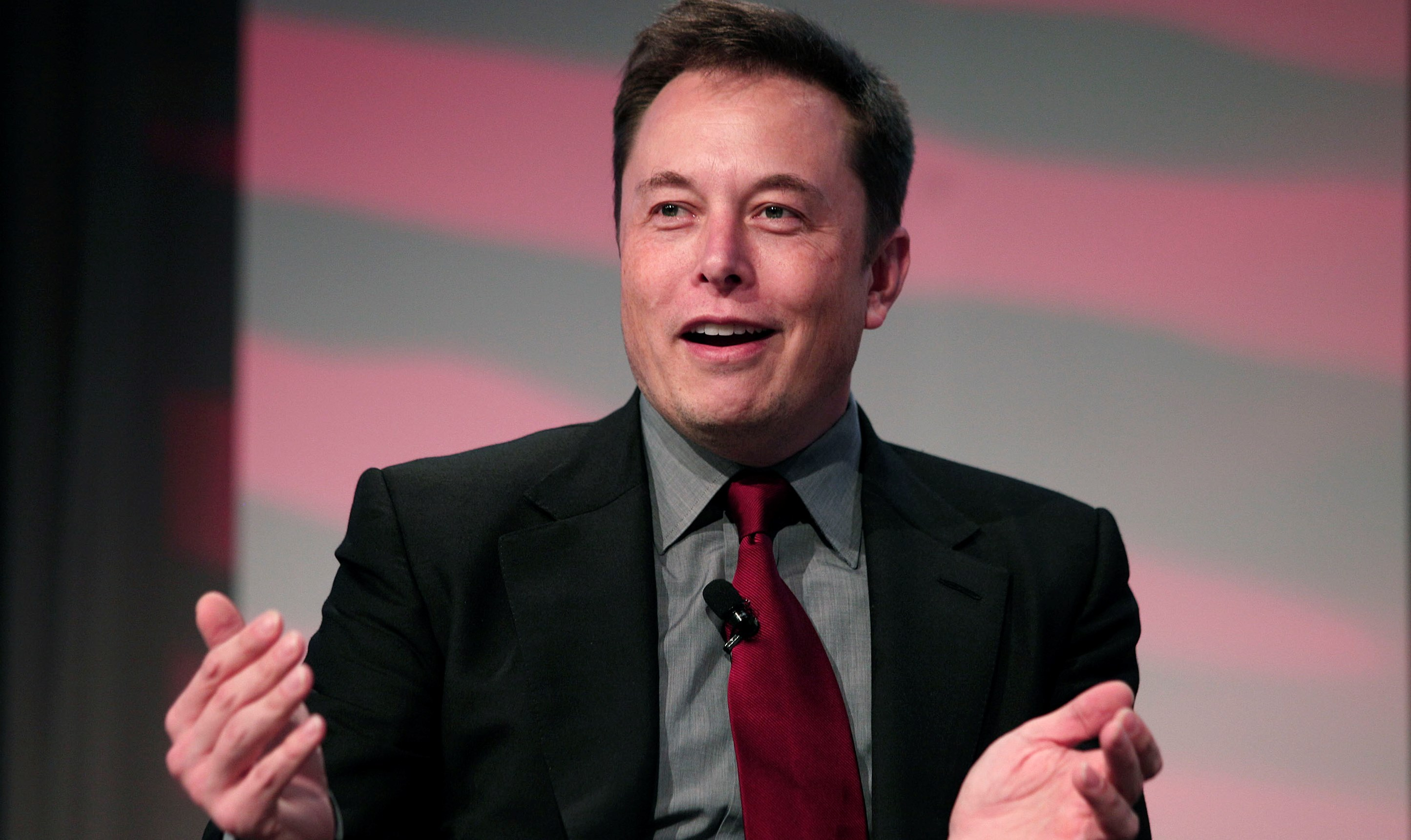 Elon Musk made statements last month about taking Tesla private. (Getty Images)