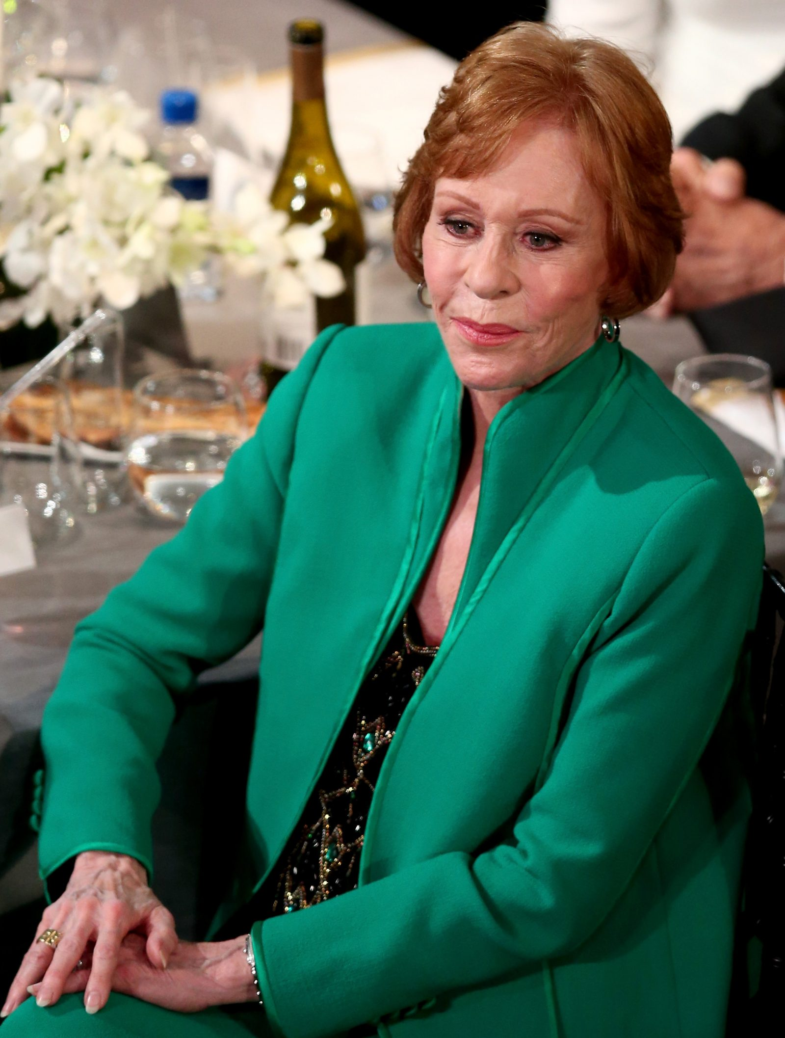 Carol Burnett, pictured at the Screen Actors Guild Awards in 2016. (Getty Images)
