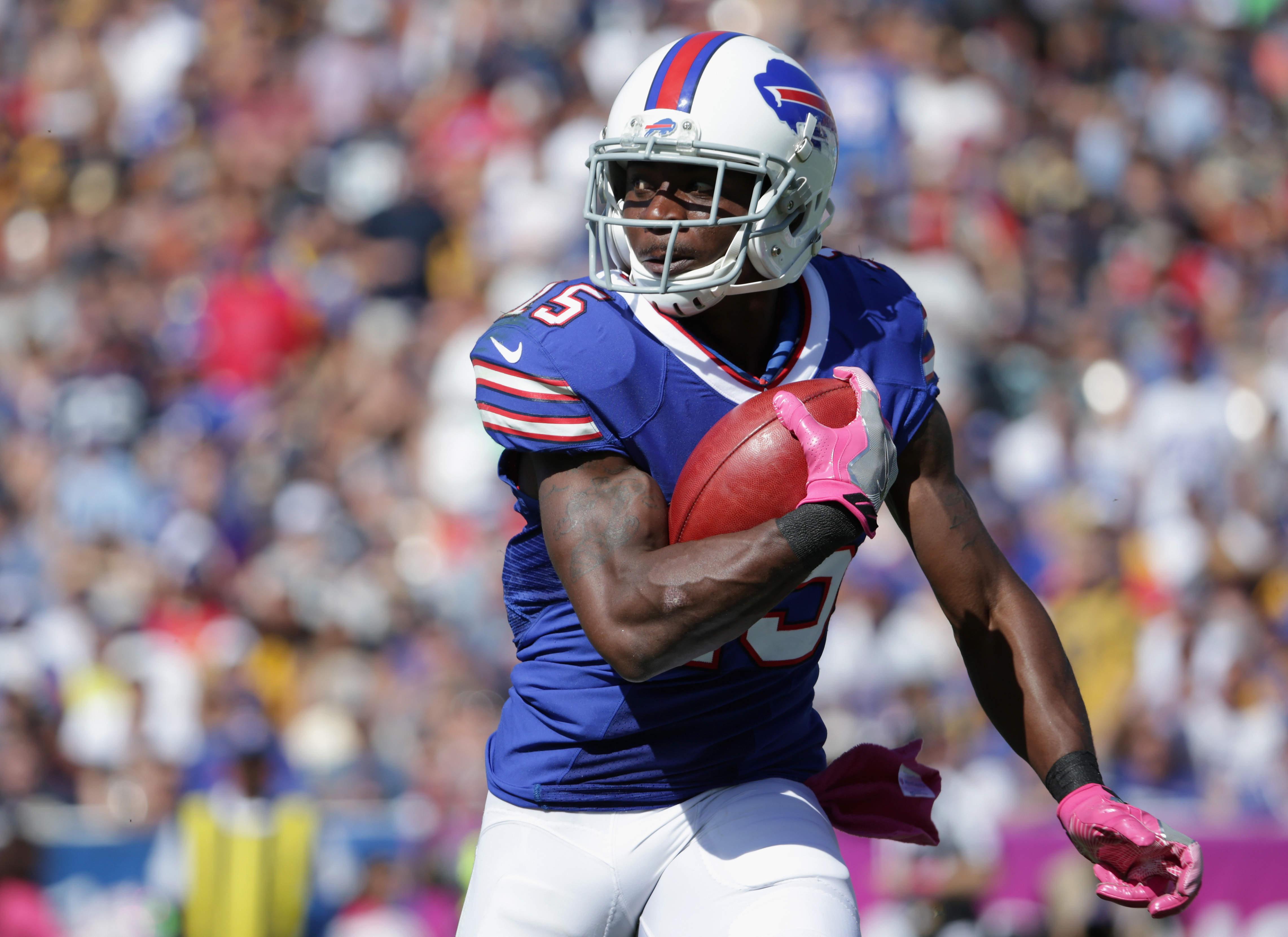 Brandon Tate has been a valuable addition to the Buffalo Bills' special teams. (Getty Images)