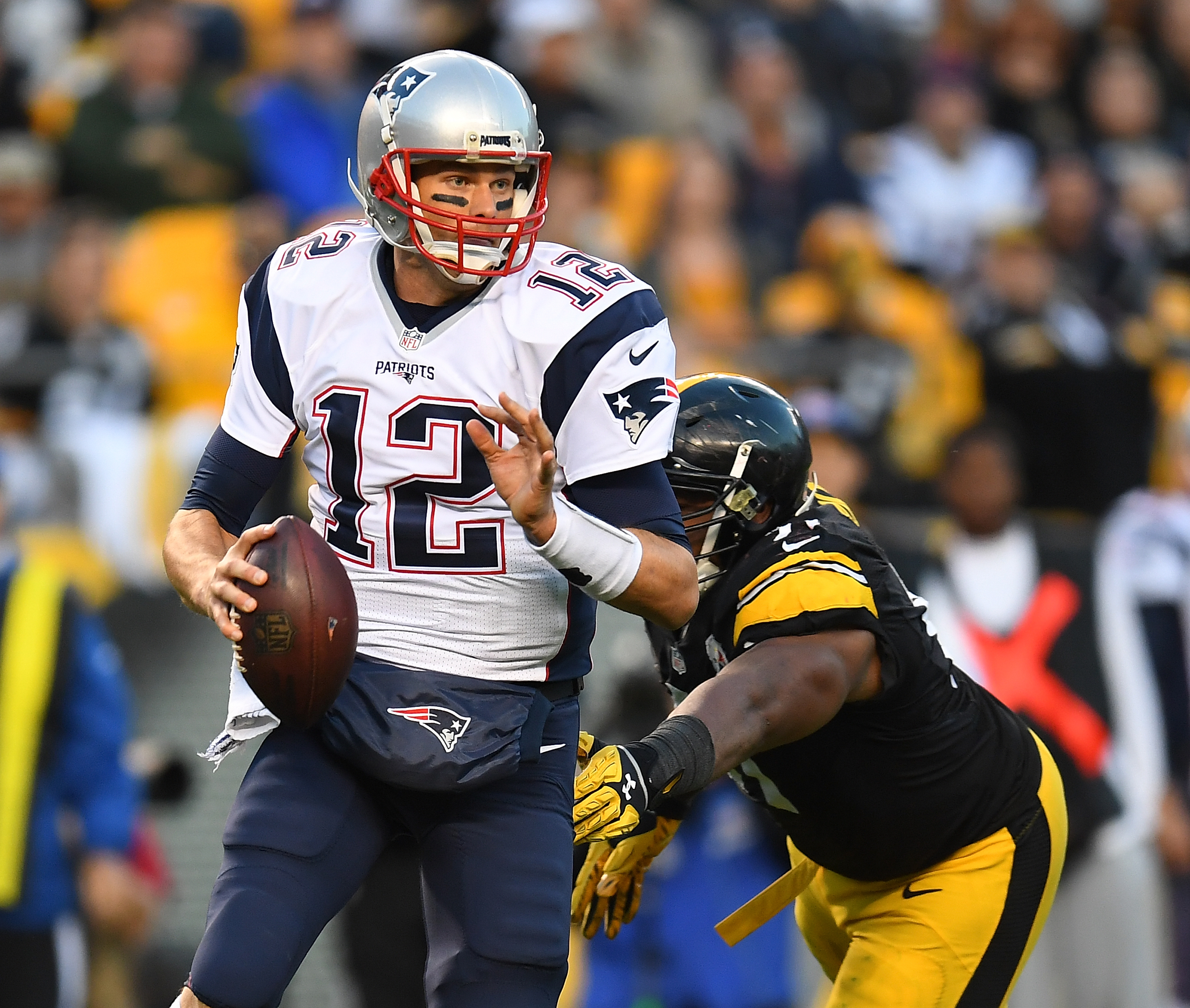 Tom Brady has been on a mission since returning from his four-game suspension. (Getty Images)