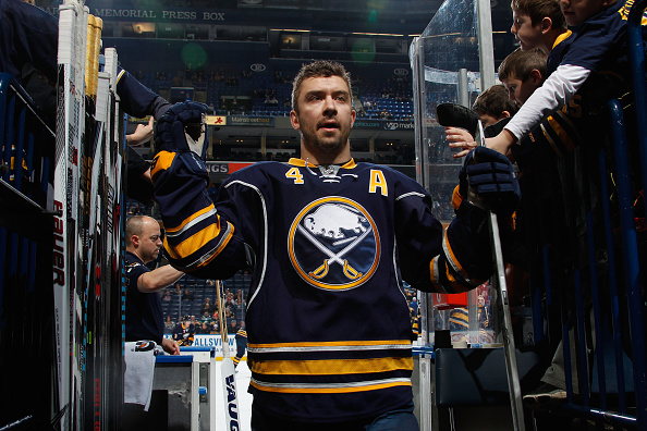 Josh Gorges liked how the Sabres kept attacking in their two victories over the weekend (Getty Images).