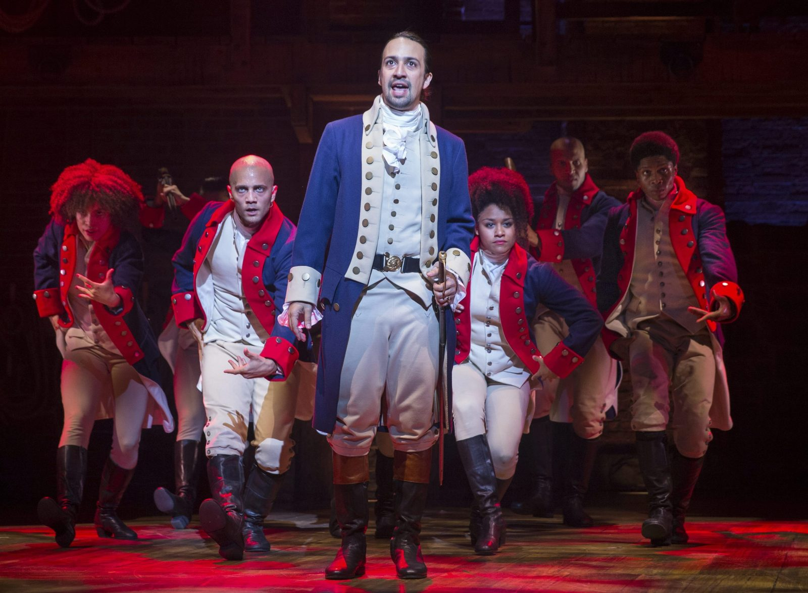 The award-winning musical 'Hamilton' will be at Shea's Buffalo Theatre in November.