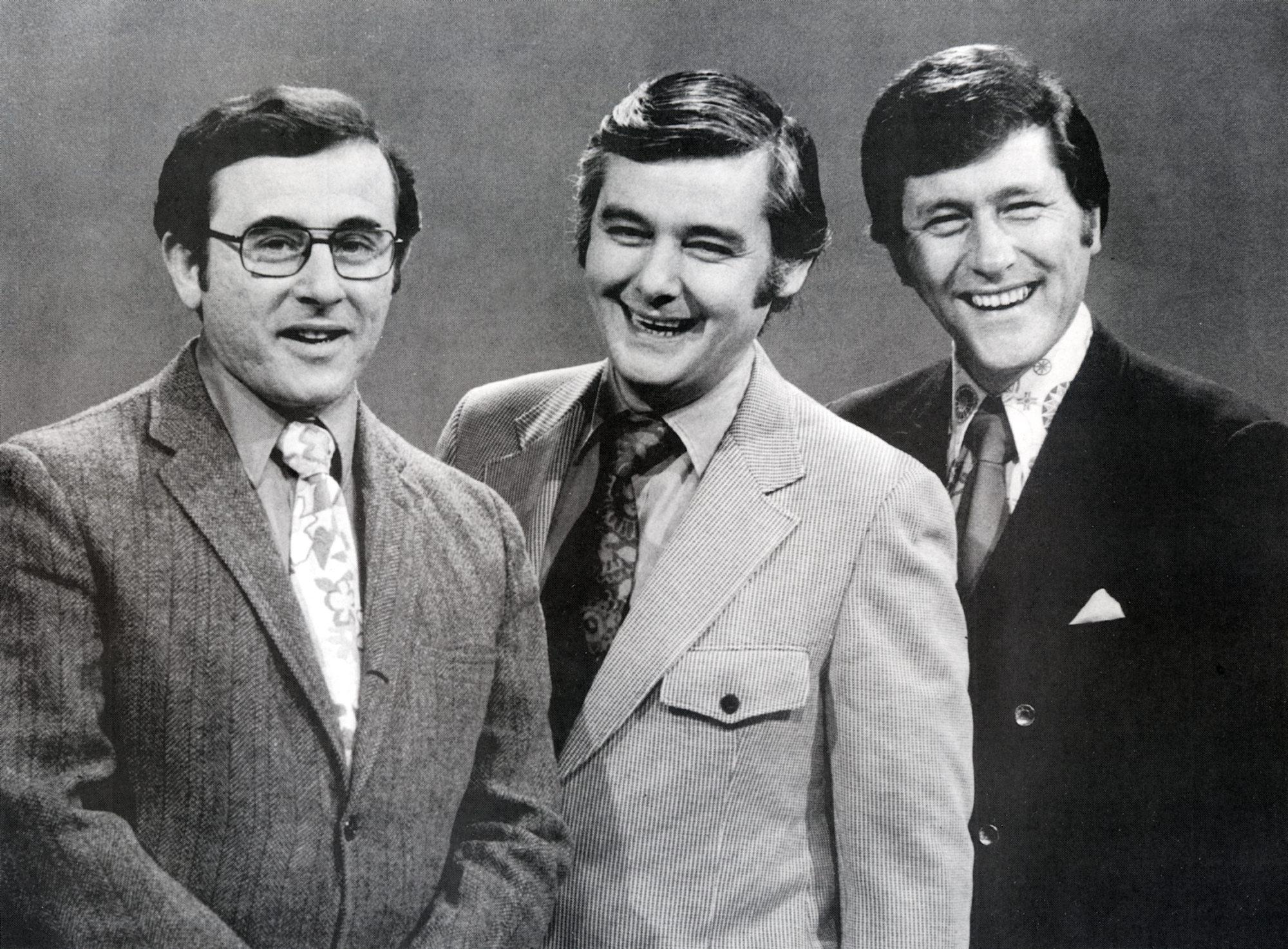 The popular Channel 7 team: Irv Weinstein, Rick Azar and Tom Jolls.