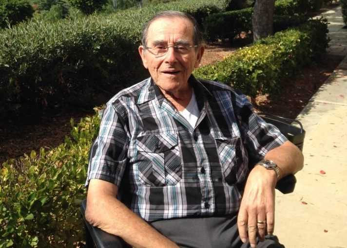 Irv Weinstein at home in California. The legendary broadcaster has been diagnosed with ALS, more commonly known as Lou Gehrig's Disease. (Photo courtesy of the Weinstein family)